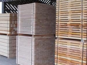 Pallet timber